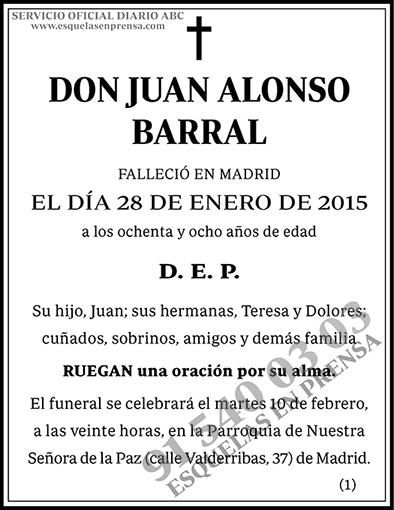 Juan Alonso Barral